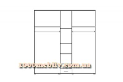 Шкаф 5Д Круиз