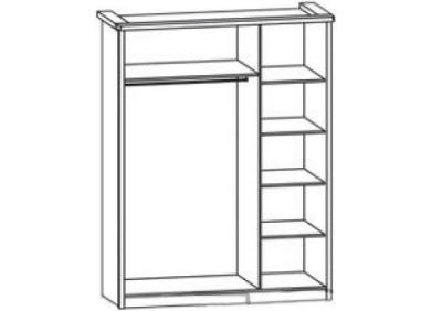 Шкаф 3Д Селина