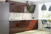 Кухня Колор-MIX шоколадный металлик