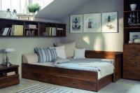 Кровать раздвижная  с матрасом и подушками JLOZ 80/160 Индиана - фото 10