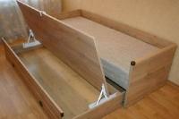 Кровать раздвижная  с матрасом и подушками JLOZ 80/160 Индиана - фото 5
