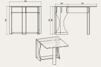 Стол Книжка-4 New Компанит - фото 2