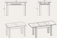 Кухонный стол КС-5 Компанит - фото 2