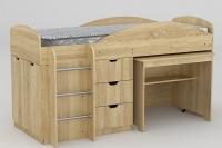 Кровать-чердак Универсал Компанит - фото 3