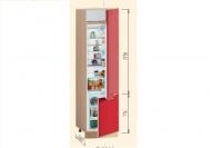 Шкаф Т-2893 под встроенный холодильник Хай-Тек - фото 2