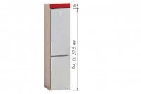 Шкаф Т-2898 под холодильник Хай-Тек - фото 2