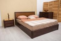 Кровать Сити с интарсией и подъемным механизмом Олимп