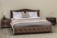 Кровать Прованс ромбы с подъемным механизмом Олимп