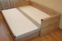 Кровать раздвижная  с матрасом и подушками JLOZ 80/160 Индиана - фото 3