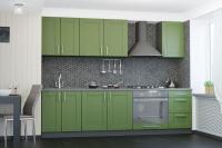 Кухня Квадро темно-зеленый VIP-master