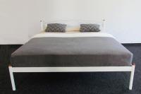 Кровать Palermo белый 1800 Метакам