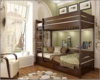 Кровать Дуэт двухъярусная - фото 2