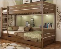 Кровать Дуэт двухъярусная - фото 3