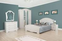 Спальня Луиза белая