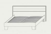 Кровать 160 Скарлет Сокме - фото 2