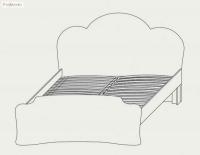 Кровать 160 Каролина Сокме - фото 4