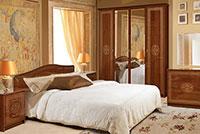 Спальня Флоренция темная глянец