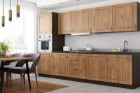Кухня Грация дуб медовый