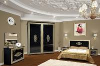 Спальня София черный лак Свит Меблив