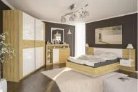 Спальня Фиеста дуб золотой Мебельсервис