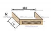 Модуль В 50ФП Валенсия патина