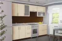 Кухня Колор-MIX ваниль глянец