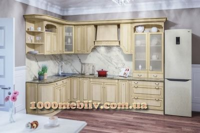 Кухня Валенсия патина Свит Меблив